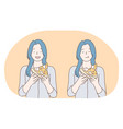 unhealthy eating fast and junk food calories vector image