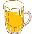Beer Mug Pint Clipart Design D
