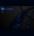 dark abstract tech background vector image vector image