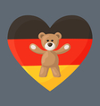 German Teddy Bears vector image vector image