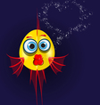 love fish vector image vector image