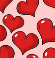 Love seamless pattern for Valentines day vector image vector image