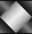 seamless geometrical diagonal square pattern vector image vector image