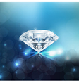 Shiny diamond background vector image vector image