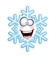 Snowflake Head HA vector image vector image