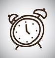 alarm design vector image
