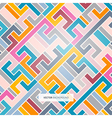 Abstract Retro Colorful Light Background vector image vector image