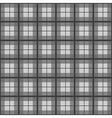 Black White Tartan Background vector image vector image