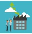 Businessman design Success icon Colorful design vector image