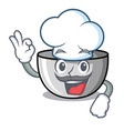 chef juicer character cartoon style vector image