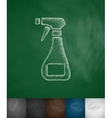 means for cleaning icon vector image vector image