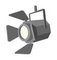 Movie spotlight cartoon icon vector image vector image