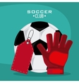 Soccer club design vector image vector image