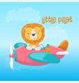 a greeting card or princess vector image vector image