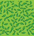 green leaves pattern background pattern foliage vector image vector image