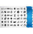 Sketched icon set vector image vector image