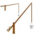 Sump wooden crane eps10