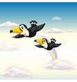 a bird vector image vector image