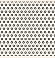 abstract geometric minimalist hexagon pattern vector image vector image
