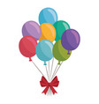 balloons air globes vector image