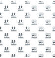 chemistry pattern seamless vector image vector image
