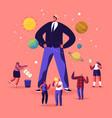 ego narcissistic self love behavior concept tiny