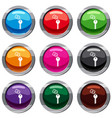 hotel key set 9 collection vector image vector image