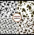 seamless pattern design animal print pattern vector image vector image
