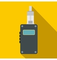 Vaping device icon flat style vector image vector image