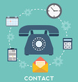 web and mobile phone services and apps icons vector image vector image