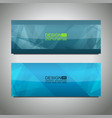 web header background design vector image vector image