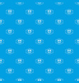 welding pattern seamless blue vector image vector image