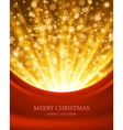 Christmas light background vector image