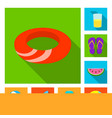 isolated object of equipment and swimming icon vector image