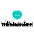 People concert crowd vector image vector image