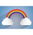 Rainbow icon design vector image