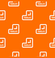 translate button pattern seamless vector image vector image