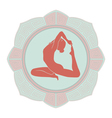 Woman yoga vector | Price: 1 Credit (USD $1)