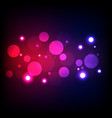 light bokeh abstract background vector image