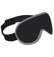 Sleeping mask vector image