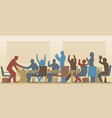 Success meeting vector image vector image