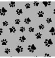 a seamless pattern of black vector image
