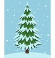 Cartoon Pine Tree vector image