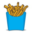 French fries4 vector image vector image