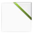 paper corner vector image vector image
