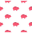 piggy pattern flat vector image vector image