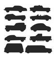 retro vintage old style car vehicle automobile vector image vector image