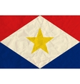 Saba paper flag vector image vector image