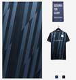 soccer jersey pattern design thunder pattern vector image vector image