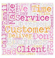 Stellar Customer Service in Simple Steps text vector image vector image